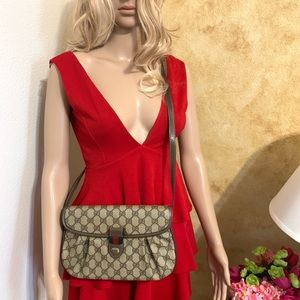 Authentic Gucci Sherry Line 3 way Bag